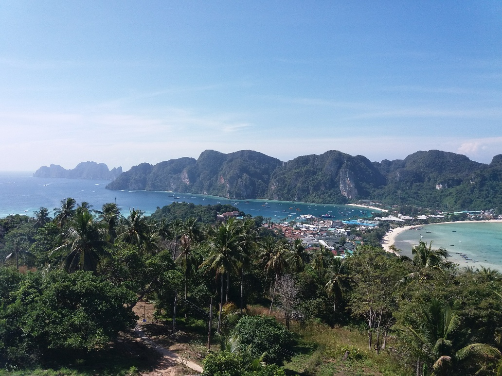 breathtaking view on Phi Phi Islands