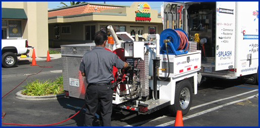 Splash plumbing service in Orange County