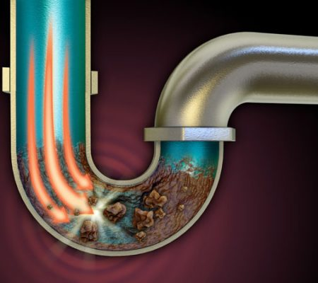 Clogged pipe repair in Orange, CA