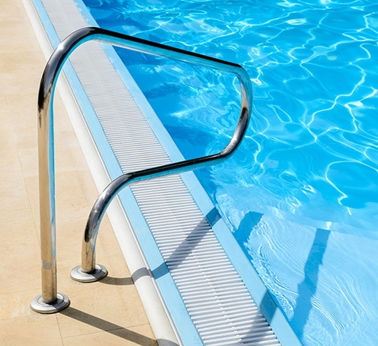 Install Pool Railing Near Pool Steps For Safety Brandon   Safety Rails For Steps   Step Handrail   Steel Stair   Exterior Handrail   Wall Mounted   Wrought Iron