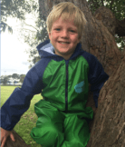 Dinosaur Splashsuit | Kids Splash Suit | Rain Suit