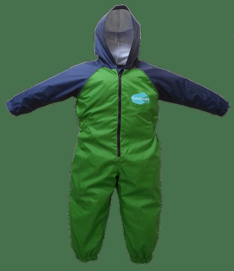 Front - Dinosaur Splashsuit | Kids Splash Suit | Rain Suit