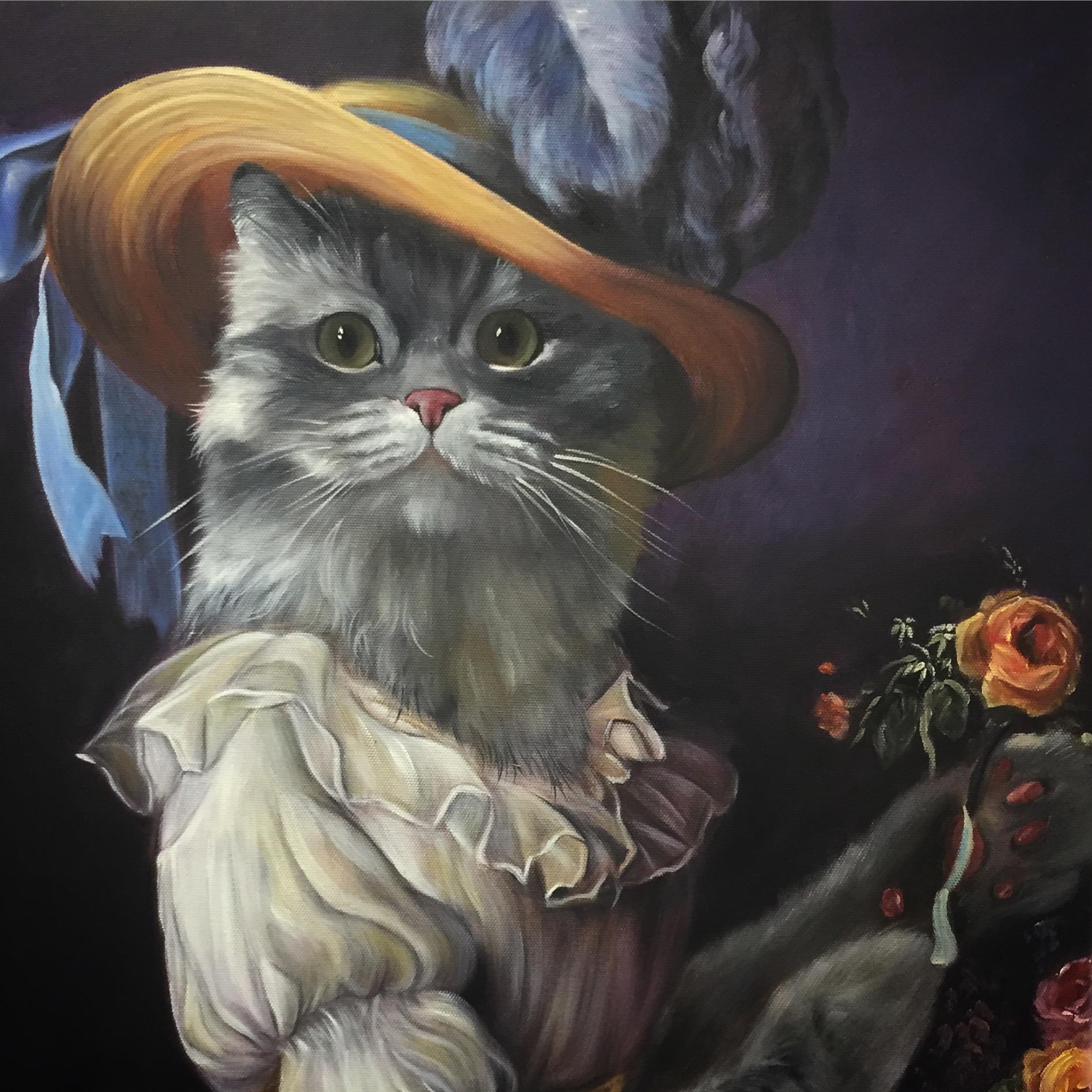 Cat Page Hat Last