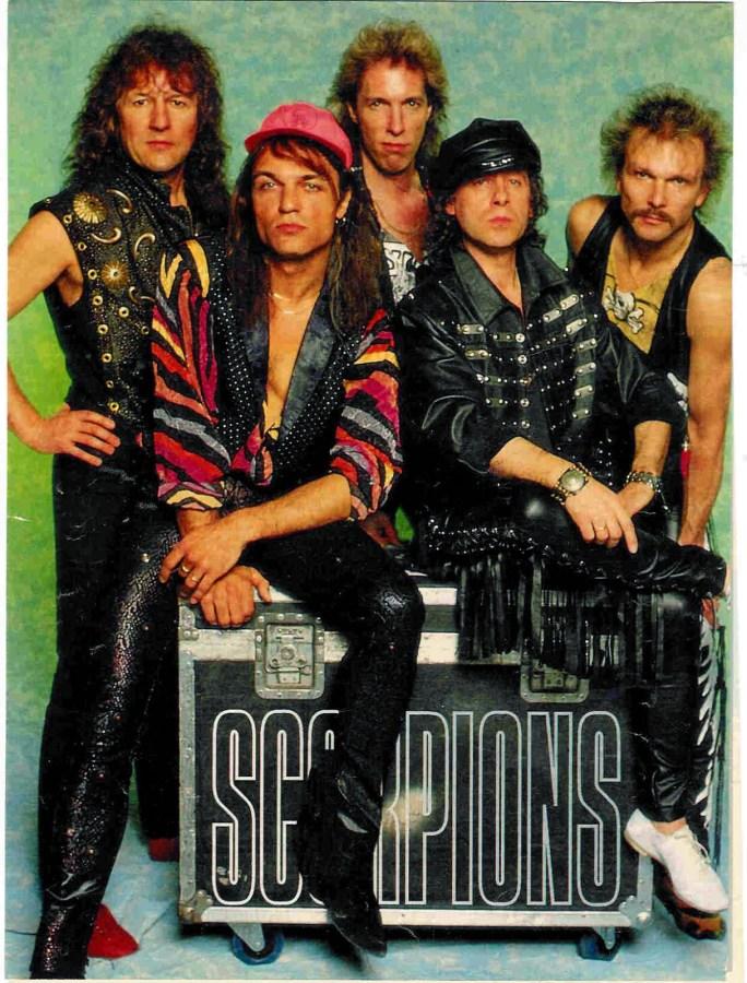 Herman Rarebell Exclusive Photos Scorpions Splento