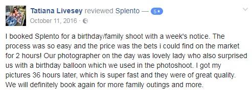 Facebook Review Splento