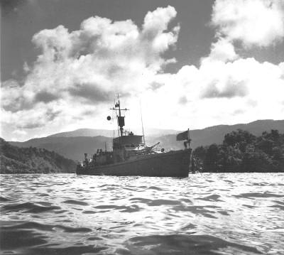 SC 648 at Hollandia New Guinea 1944.
