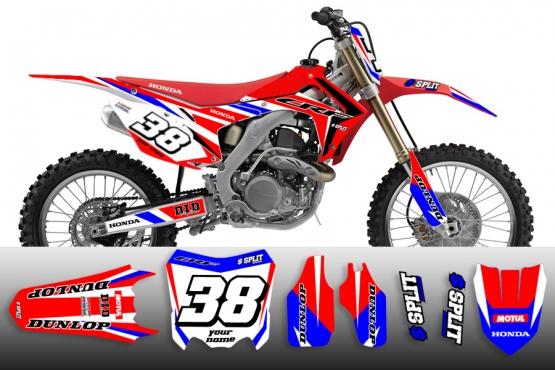Kit 2003 Cr250 Graphics