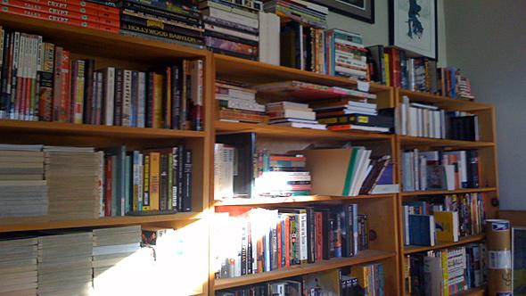my bookshelf 2008