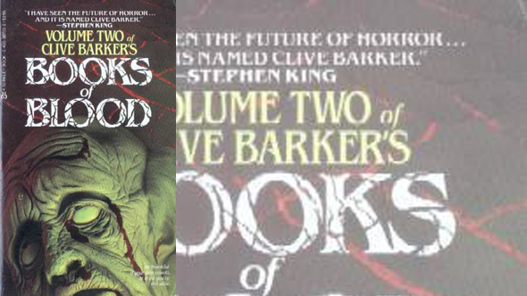 the books of blood, vol. 2, by Clive Barker