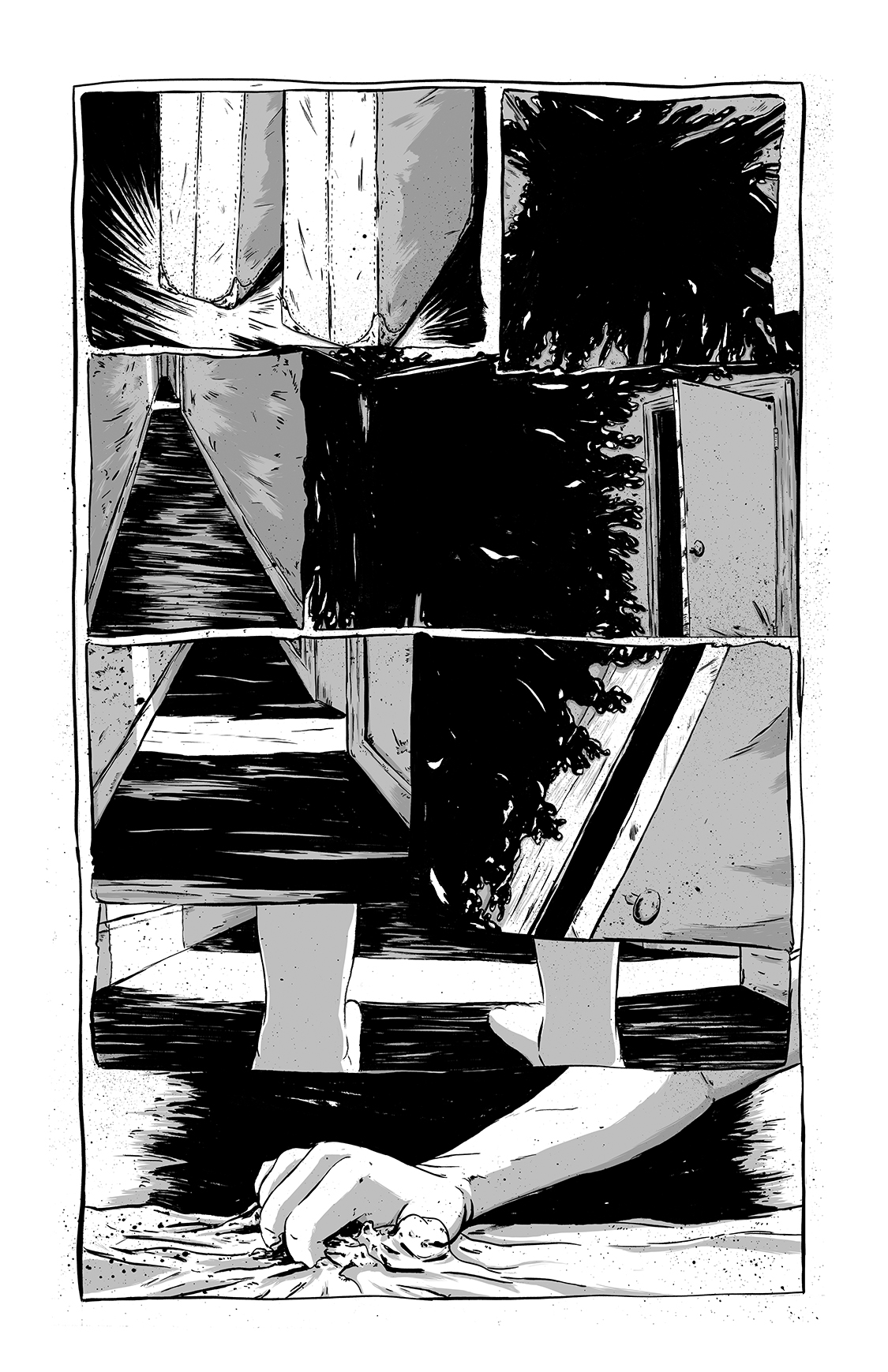 Eight Days Alone, page 6, by Sam Costello and Matthew Goik