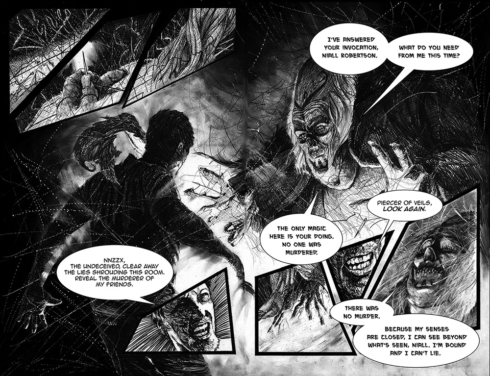 See No Evil, pages 12 & 13