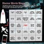 horror movie bingo