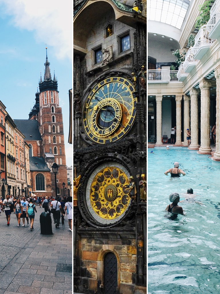 città europee da visitare in un weekend