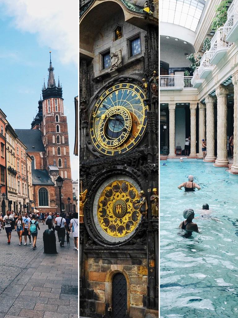 città europee da visitare in un weekend