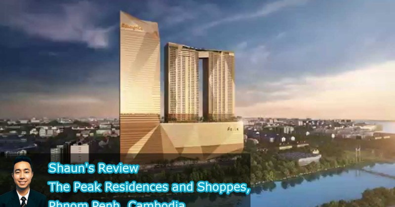Shaun's Review: The Peak Residences and Shoppes, Phnom Penh, Cambodia