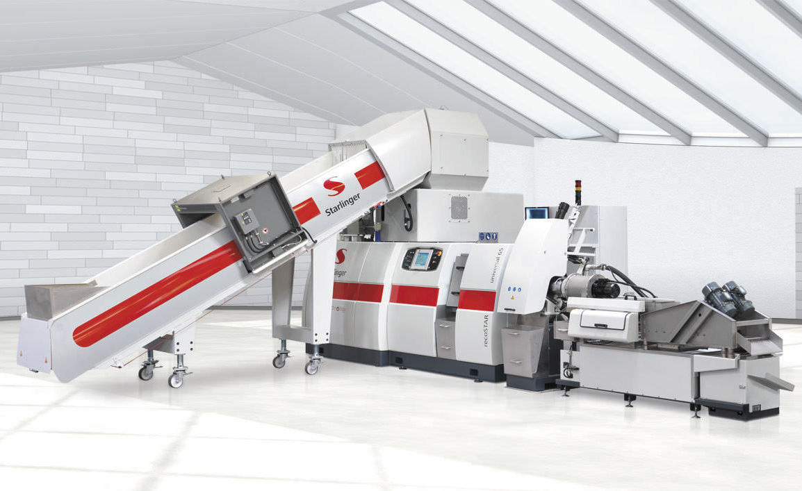 Recycling line - recoSTAR universal