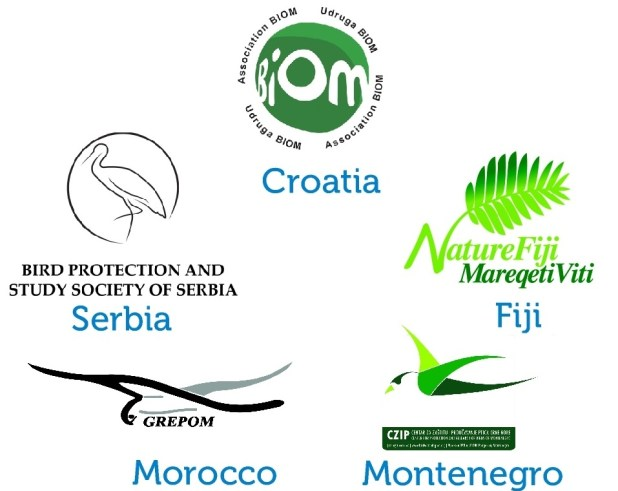 The total number of countries and territories represented by BirdLife Partners is now 121