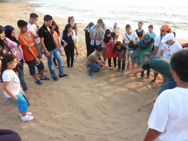 For the second time Orange House project are having a workshop. More than 40 young people were trained to save turtles