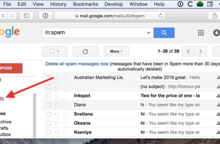 How to Stop Email to Drop into SPAM Folder in Gmail