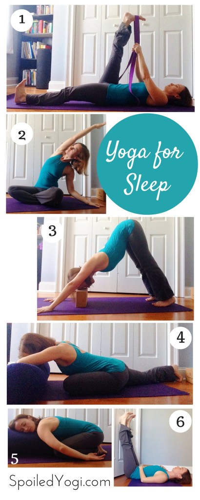 Goodnight Yoga | 7 Yoga Poses to Help You Sleep | SpoiledYogi.com
