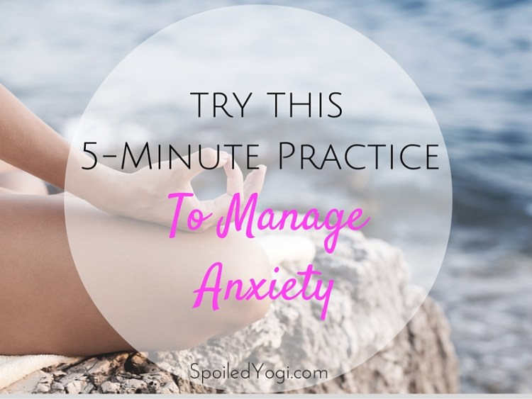 Try this quick positive affirmation practice to help you manage anxiety | Parenting, Prenatal Yoga, Pregnancy, Stress | SpoiledYogi.com