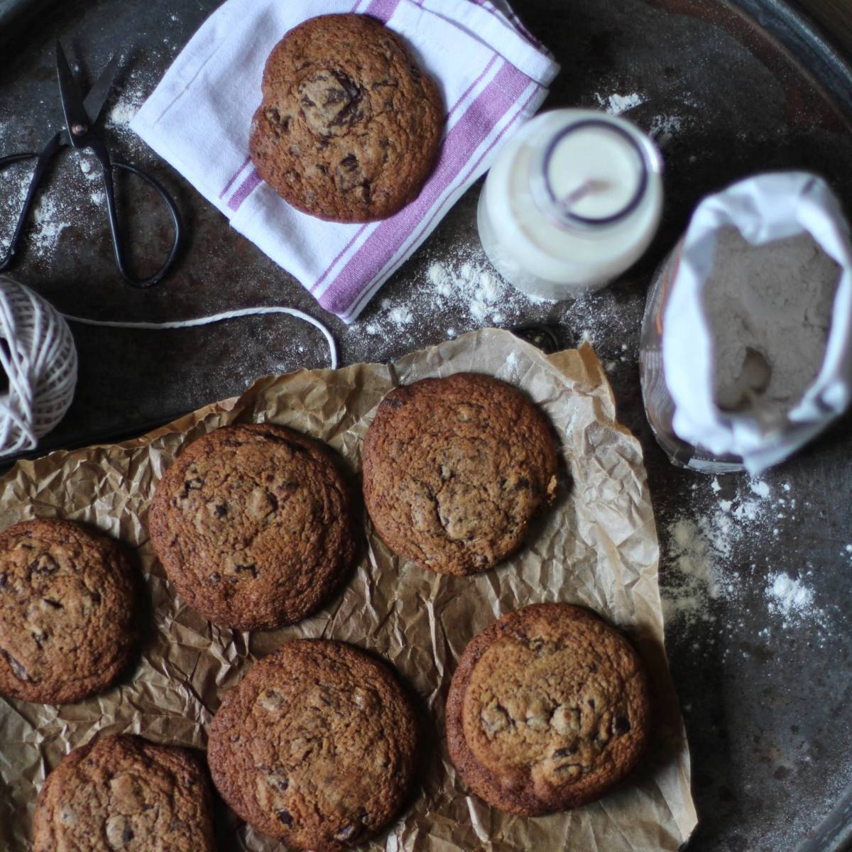 Recipe for Madeleine Shaw's Chocolate Chip Cookies