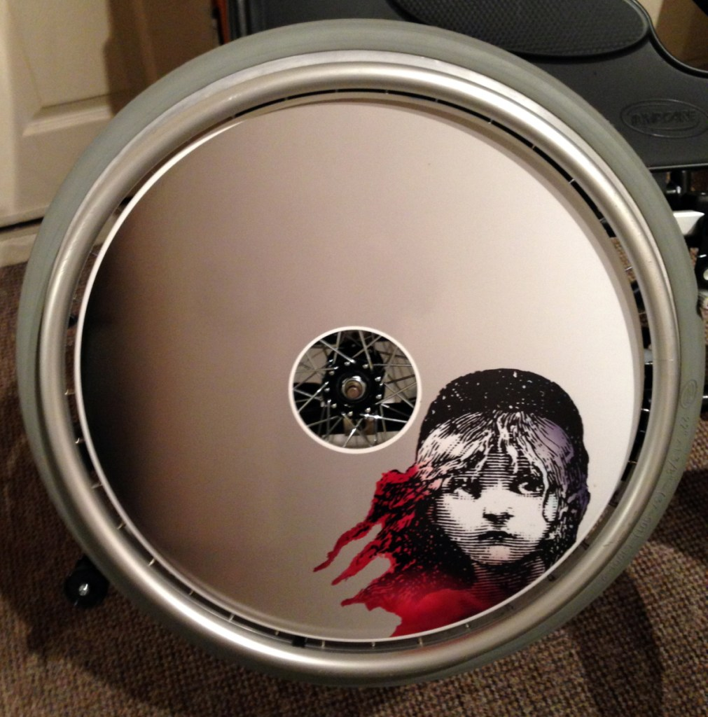 Les Miserables Wheelchair Wheel Covers SpokeGuards
