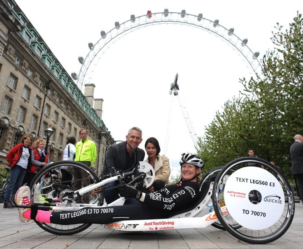 Claire Lomas Hand Bike Challenge SpokeGuards