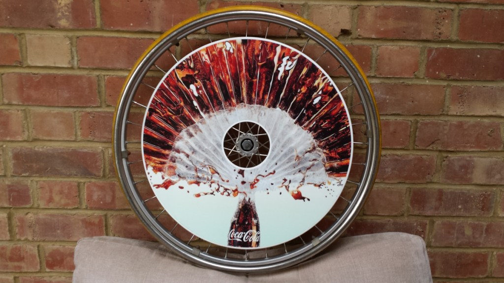 Coca Cola Wheelchair Wheel Covers SpokeGaurds