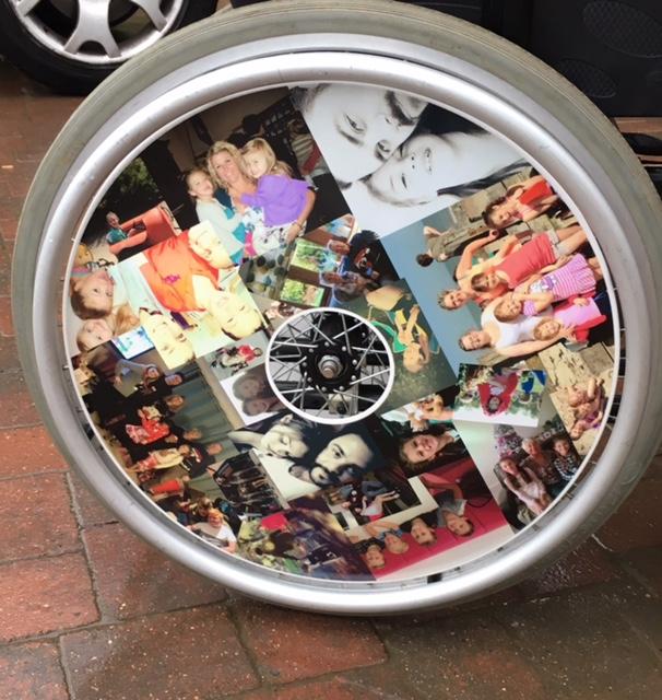 Family Photos Wheelchair Wheel Covers SpokeGuards