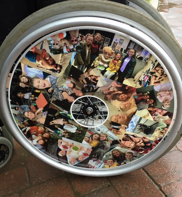 Family Pictures Wheelchair Wheel Covers SpokeGuards