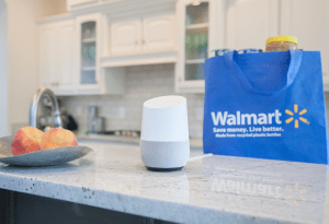 Walmart and Google Joined hands for voice based shopping