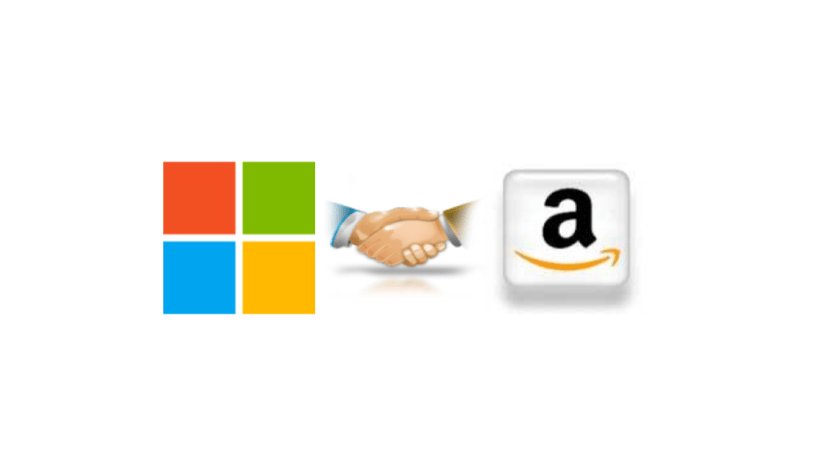 Microsoft and Amazon