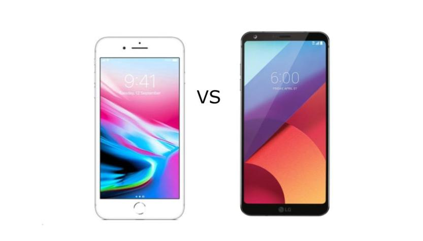 7 Major Selling Points of iPhone 8 Plus and LG G6 Compared