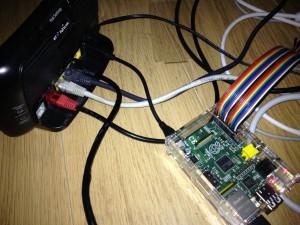 Raspberry Pi Powered from BT Home Hub