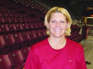Gophers Women's Coach Pam Borton Photo by Charles Hallman