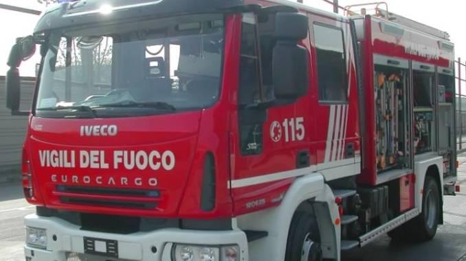 Spoleto, incendio bosco sulla Somma ad Acqualacastagna