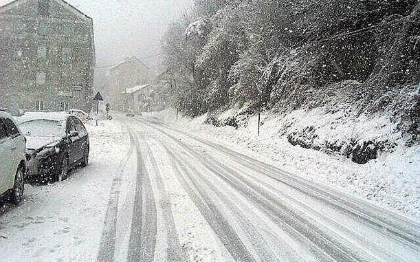 Maltempo, mercoledì scuole chiuse anche Spoleto per neve