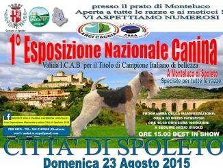 Spoleto, Prima Esposizione Nazionale Canina