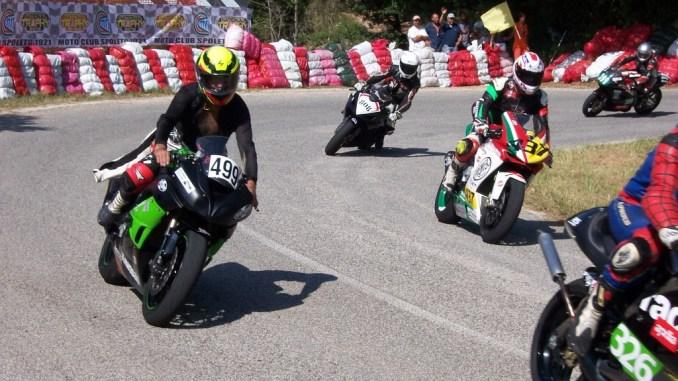 Motociclismo Spoleto, chiusa con successo la due giorni di velocità in salita