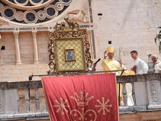 Solennità dell'Assunta, celebrata a Spoleto da monsignor Boccardo