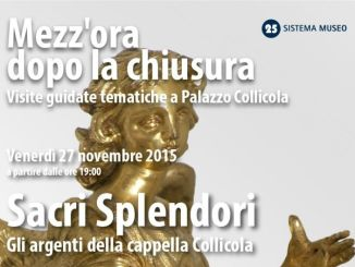 Sacri Splendori, gli argenti della cappella Collicola