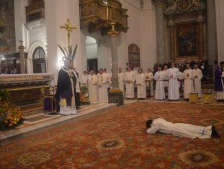 Monsignor Renato Boccardo, ha ordinato sacerdote il diacono Luis Vielman
