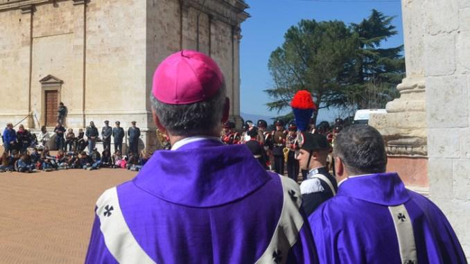 Giubileo delle Forze Armate, celebrato nella Cattedrale di Spoleto