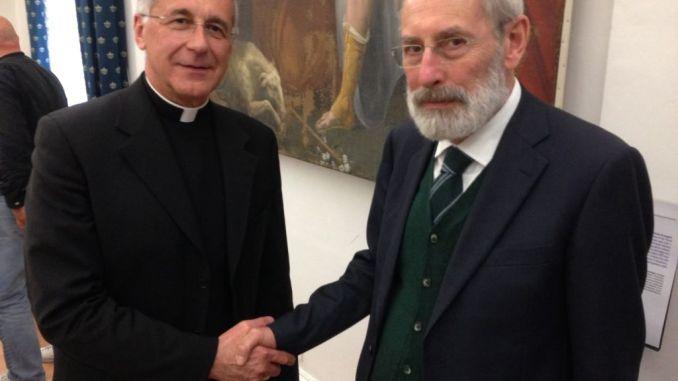 Arcivescovo di Spoleto incontra il Rabbino Capo di Roma
