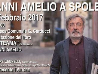 Gianni Amelio a Spoleto, presenta il suo romanzo d'esordio