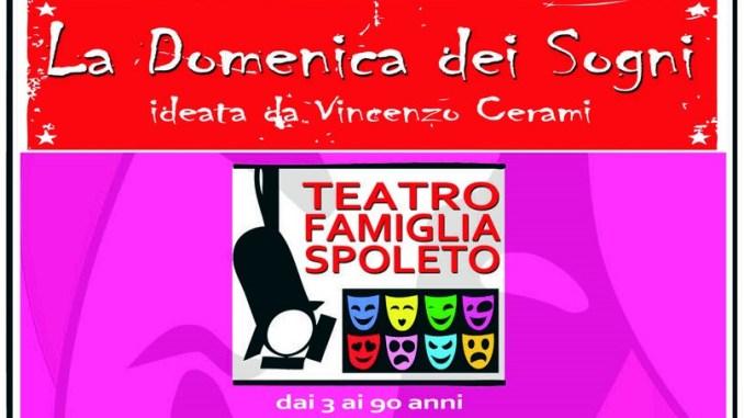 Torna a Spoleto La Domenica dei Sogni, rassegna di teatro famiglia