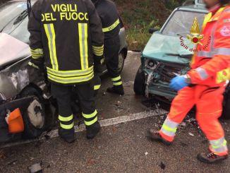 Incidente stradale a Spoleto, due feriti gravi dopo scontro tra mezzi