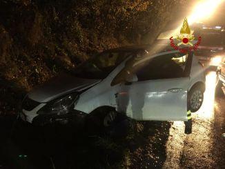 Incidente stradale tra Baiano e Trignano un ferito fieve