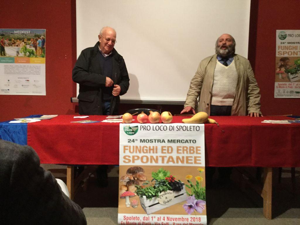 Successo a Spoleto per la mostra mercato sui funghi e le erbe spontanee